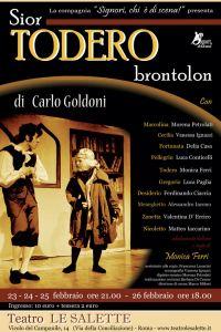 Sior Todero brontolon <br> <div class=sottotitolo>di Carlo Goldoni</div>