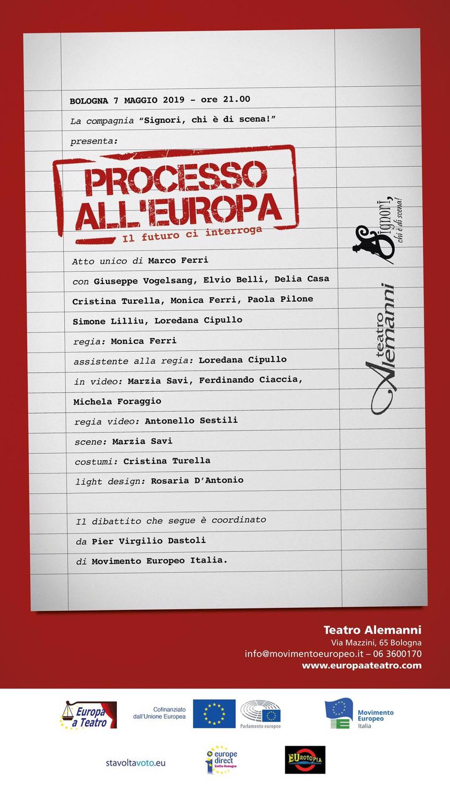 Processo all'europa - bologna